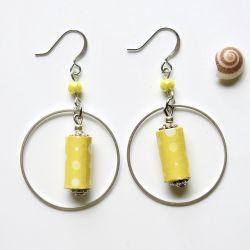 Boucles d'Oreilles Citron