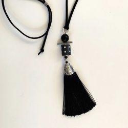 Sautoir Black & White
