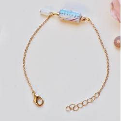 Bracelet Chaîne Fleur